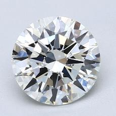 Recommended Stone #1: 2.00-Carat Round Cut