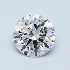Recommended Stone #2: 1.08-Carat Round Cut
