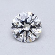 推荐宝石 2:0.70 克拉圆形切割