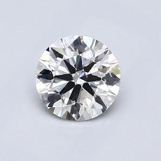 推荐宝石 4:0.72 克拉圆形切割