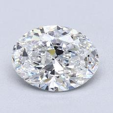 Piedra recomendada 3: Talla ovalada de 1.70 quilates
