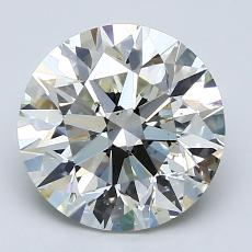 Recommended Stone #4: 2.60-Carat Round Cut