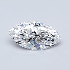 Recommended Stone #4: 0,53-Carat Marquise Cut