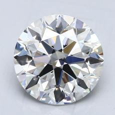 Recommended Stone #1: 2.52-Carat Round Cut