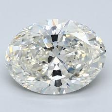 Piedra recomendada 3: Talla ovalada de 3.01 quilates