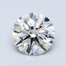 Recommended Stone #1: 1.37-Carat Round Cut