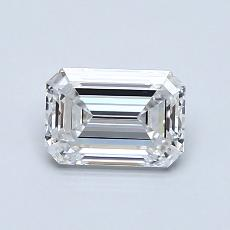 Recommended Stone #2: 0,91-Carat Emerald Cut