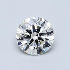 推荐宝石 4:0.80 克拉圆形切割