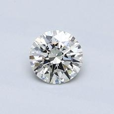 Recommended Stone #3: 0.51-Carat Round Cut