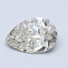 Recommended Stone #1: 1,05-Carat Pear Shaped
