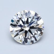 Recommended Stone #3: 1.23-Carat Round Cut