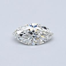 Recommended Stone #3: 0.32-Carat Marquise Cut