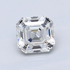 Target Stone: 1.05-Carat Asscher Cut Diamond
