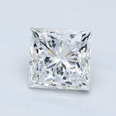 1.02-Carat Princess Diamond Very Good E VS2