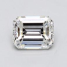 Piedra recomendada 1: Diamante de talla esmeralda de 1.03 quilates