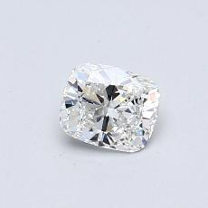 0.42-Carat Cushion Diamond Very Good G VVS2
