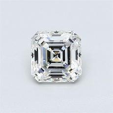 Pierre recommandée n°2: Diamant taille Asscher 0,72 carat