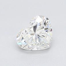 Recommended Stone #1: 0,91-Carat Heart Cut Diamond