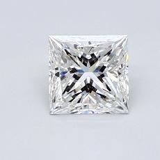 Recommended Stone #4: 0.81-Carat Princess Cut Diamond