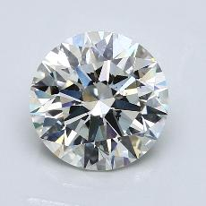 Recommended Stone #4: 3.04-Carat Round Cut Diamond