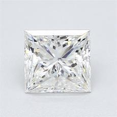 1.25-Carat Princess Diamond Very Good G VS1