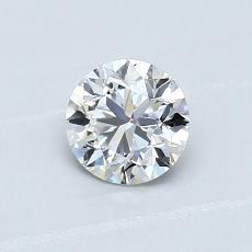 Recommended Stone #3: 0.62-Carat Round Cut Diamond