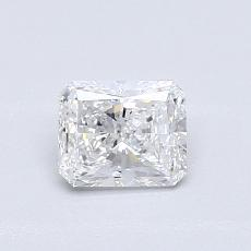 Pierre recommandée n°4: Diamant Taille radiant de 0,52carat