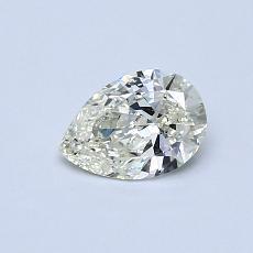 Piedra recomendada 3: Diamante en forma de pera de0.44 quilates