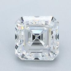 Recommended Stone #3: 2.01-Carat Asscher Cut Diamond