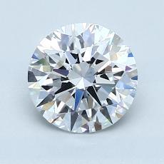 推薦鑽石 #2: 1.57  克拉圓形切割