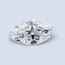 Recommended Stone #1: 0.53-Carat Marquise Cut