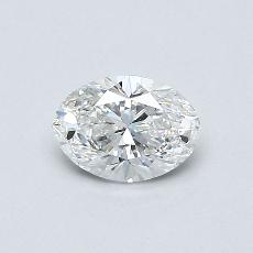 Recommended Stone #4: 0.45-Carat Oval Cut