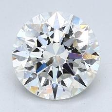 2.06 Carat 圓形 Diamond 理想 I VS2