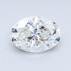 Recommended Stone #4: 0,90-Carat Oval Cut Diamond