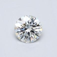 0.51 Carat 圓形 Diamond 理想 G VS2