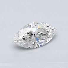 Piedra recomendada 3: con diamante Talla marquesa de 0.50 quilates