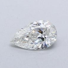 0.54 Carat 梨形 Diamond 非常好 G SI1
