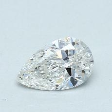 0.70 Carat 梨形 Diamond 非常好 G SI1