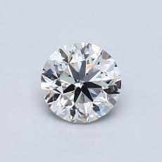 0.70 Carat 圆形 Diamond 良好 H VS1
