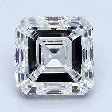 推薦鑽石 #3: 2.50 Carat Asscher Cut