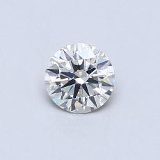 Target Stone: 0.38-Carat Round Cut Diamond