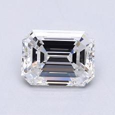 Recommended Stone #4: 1.00-Carat Emerald Cut Diamond