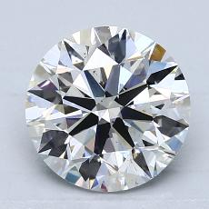 2.00-Carat Round Diamond Ideal F SI1