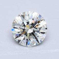 1.52-Carat Round Diamond Ideal G VVS1