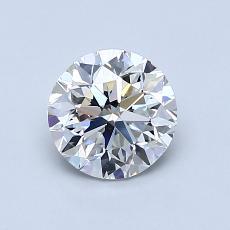 1.00 Carat 圓形 Diamond 良好 G VS2