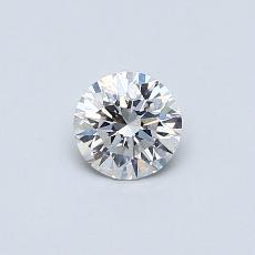 オススメの石No.3:0.38カラットのラウンドカットダイヤモンド