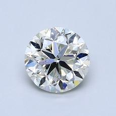 オススメの石No.4:1.01カラットのラウンドカットダイヤモンド