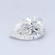 Current Stone: 0.52-Carat Pear Shaped