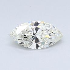 推薦鑽石 #1: 0.48 克拉欖尖形切割