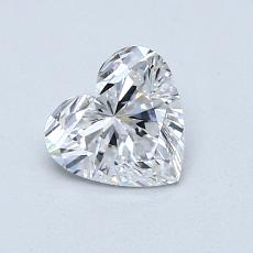 Recommended Stone #2: 0,81-Carat Heart Cut Diamond